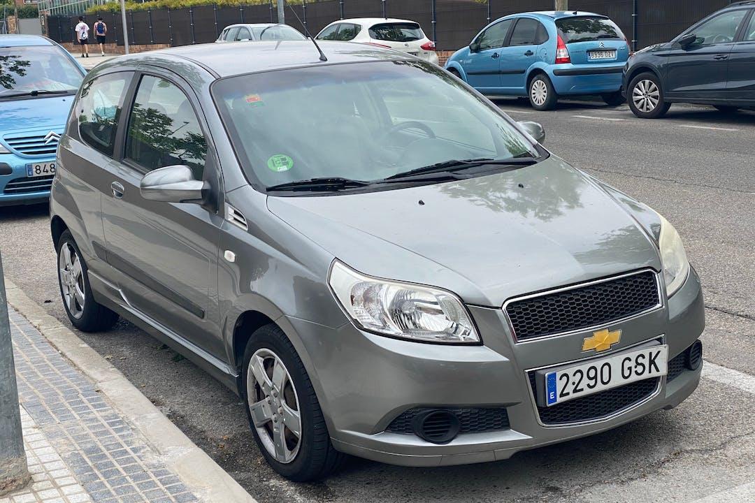 Alquiler barato de Chevrolet Aveo cerca de 28222 Majadahonda.