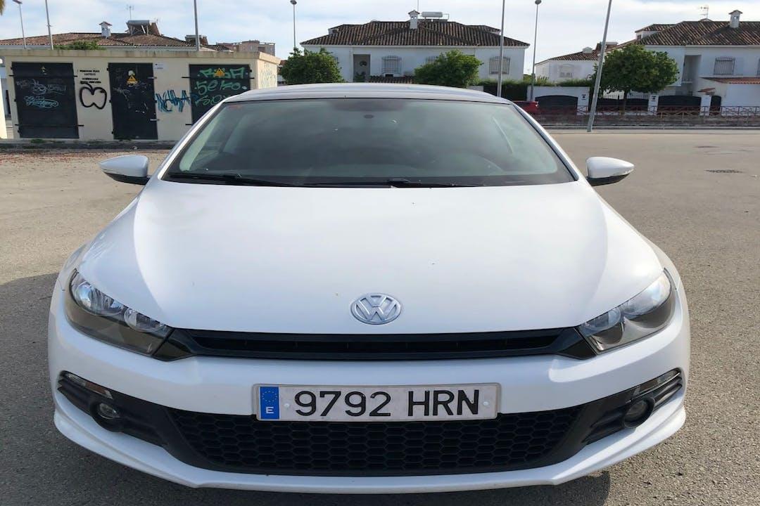 Alquiler barato de Volkswagen Scirocco cerca de 11407 Jerez de la Frontera.