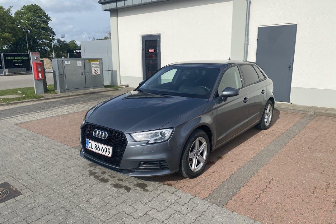Billig billeje af Audi A3 nær 5000 Odense.