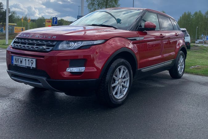 Billig biluthyrning av Land Rover Range Rover Evoque med Isofix i närheten av  .