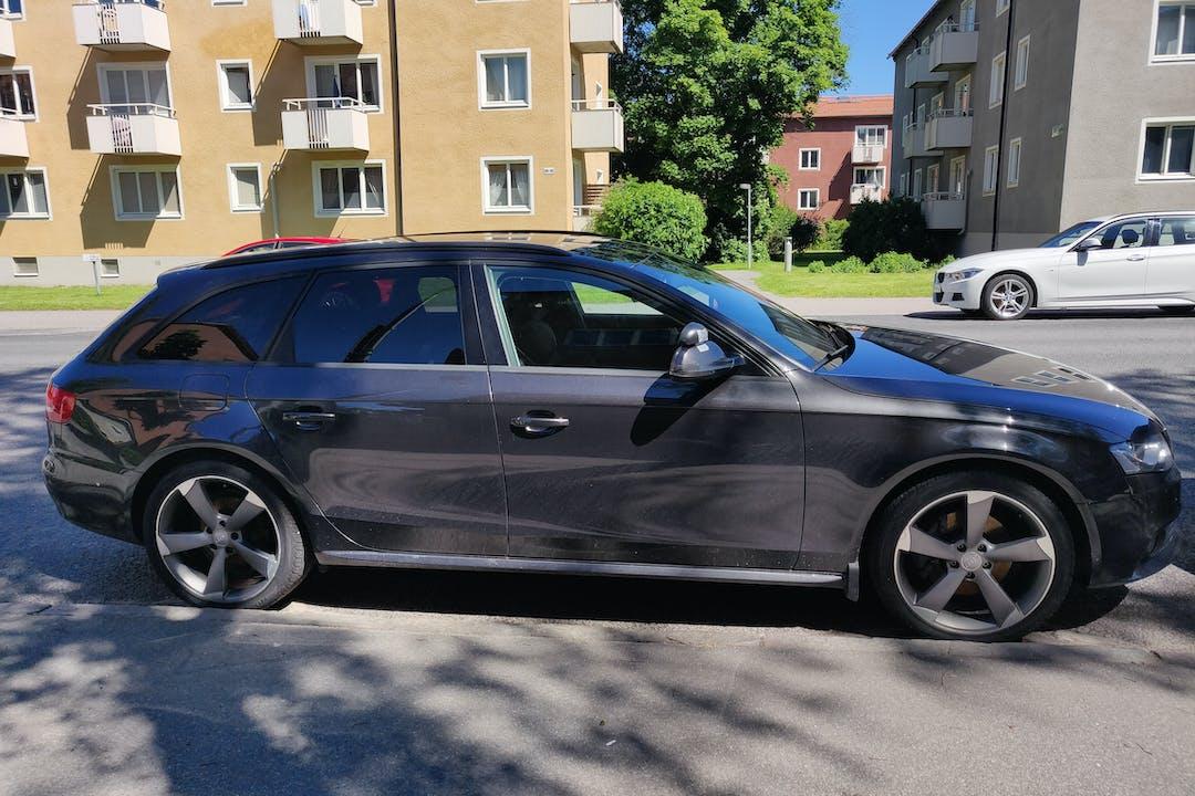 Billig biluthyrning av Audi A4 med Isofix i närheten av 120 58 Enskede-Årsta-Vantör.