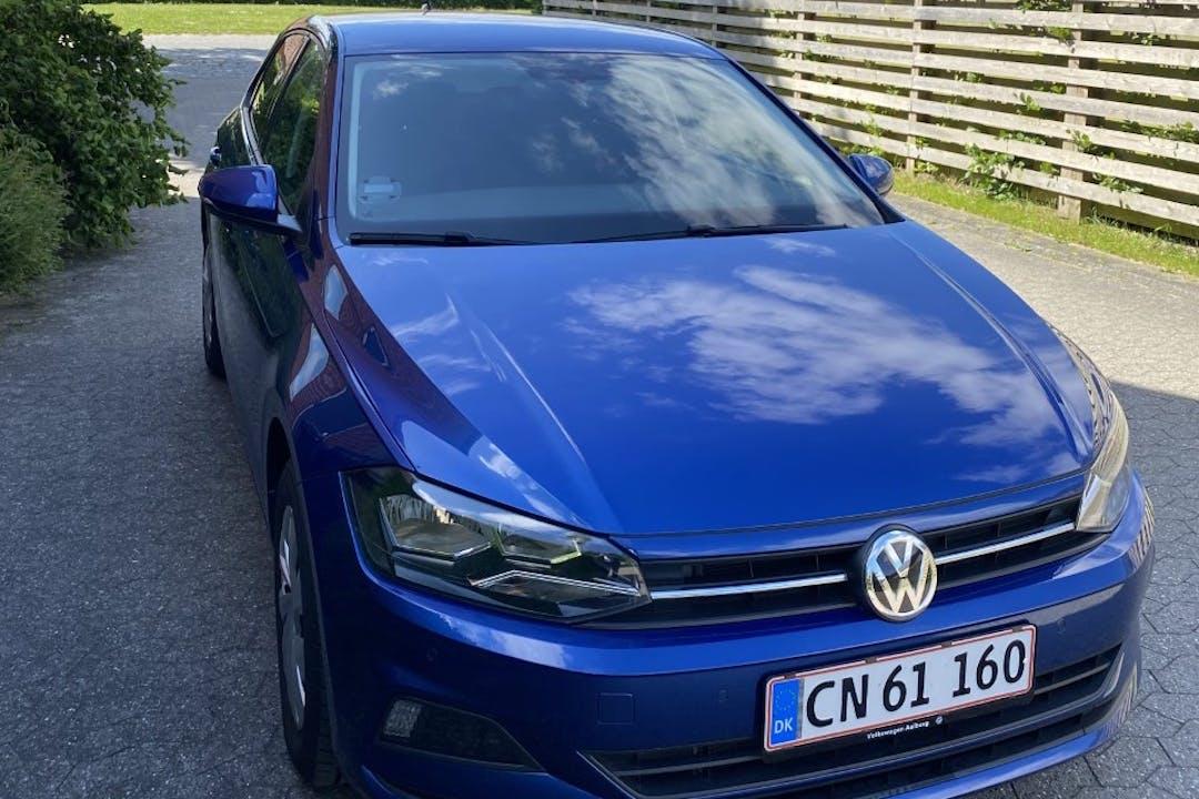 Billig billeje af Volkswagen Polo med GPS nær 8000 Aarhus.