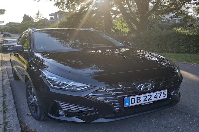 Billig billeje af Hyundai i30 med Isofix beslag nær 8700 Horsens.