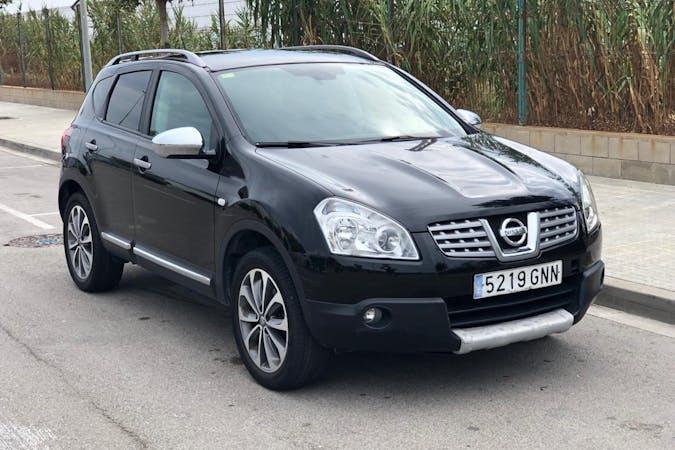 Alquiler barato de Nissan Qashqai con equipamiento GPS cerca de 08303 Mataró.