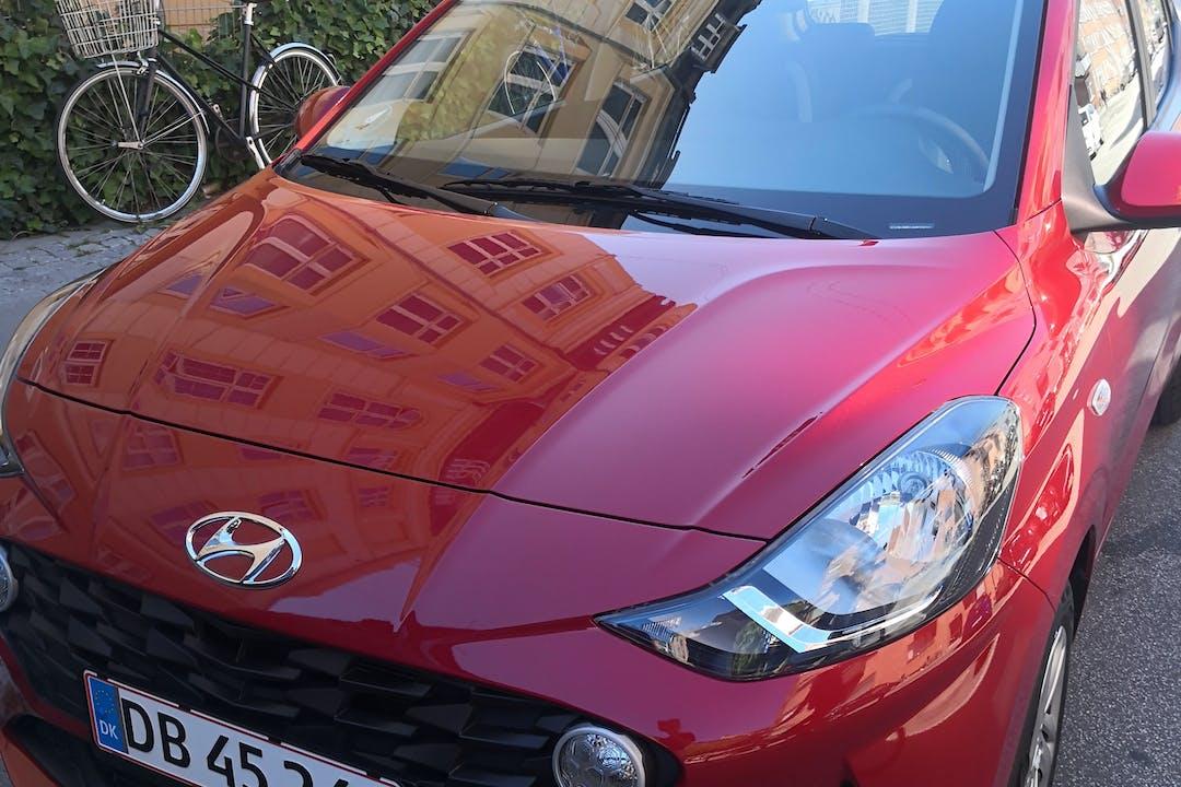 Billig billeje af Hyundai i10 med Bluetooth nær 2400 København.