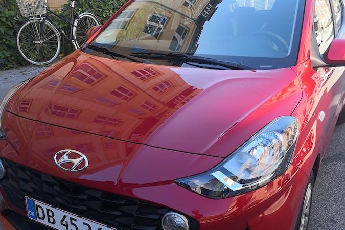Billig billeje af Hyundai i10 med Bluetooth nær 2800 Kongens Lyngby.