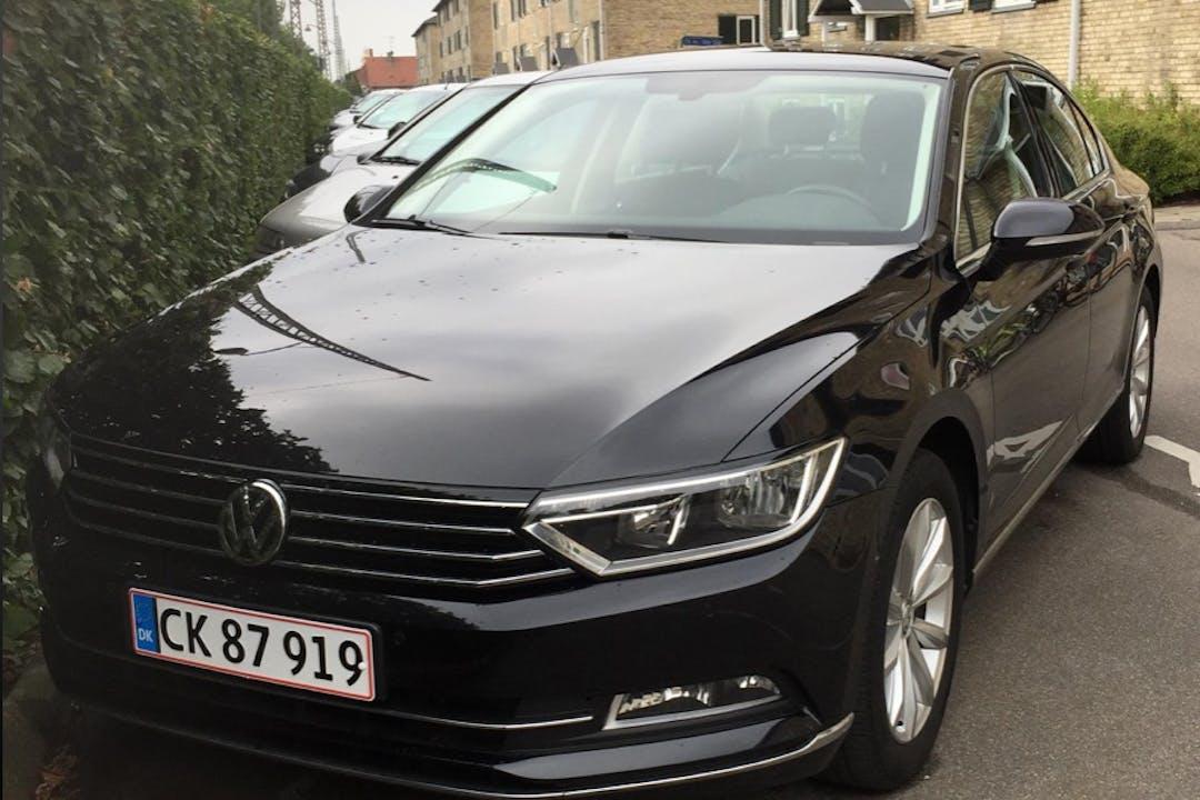 Billig billeje af Volkswagen Passat med Anhængertræk nær 2500 København.