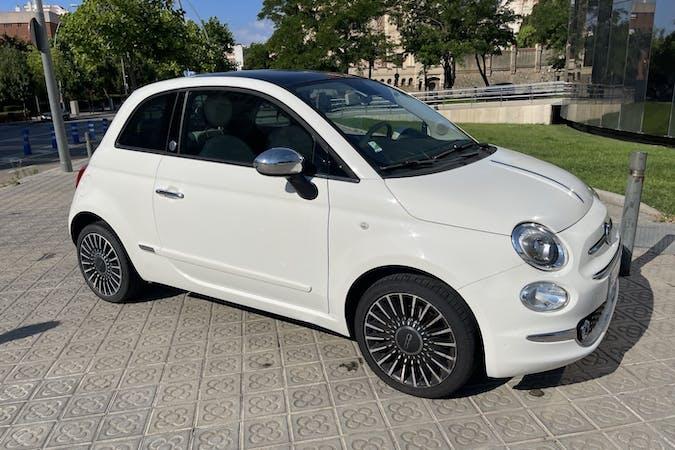 Alquiler barato de Fiat 500 cerca de 08016 Barcelona.