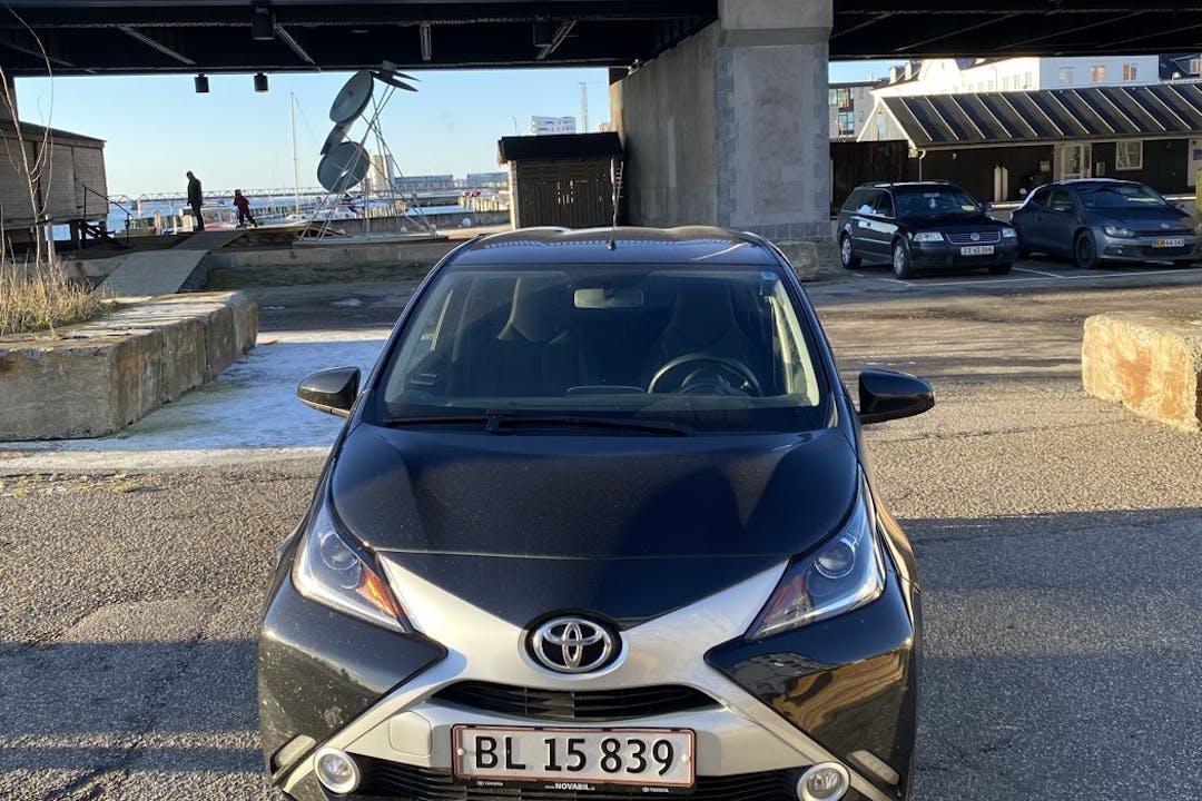 Billig billeje af Toyota AYGO nær 9000 Aalborg.