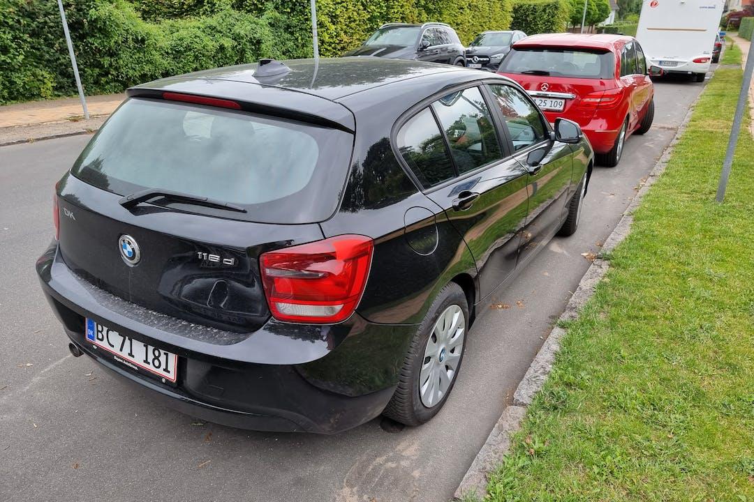 Billig billeje af BMW 1 Series med Isofix beslag nær 5230 Odense.