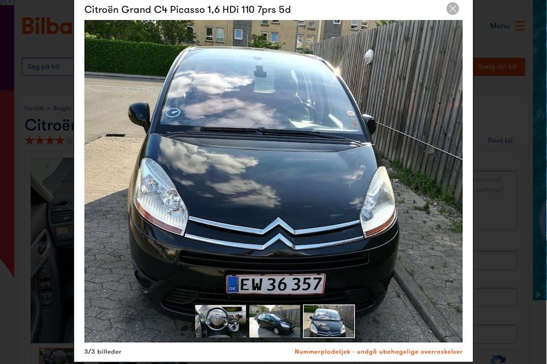 Billig billeje af Citroën Grand C4 Picasso nær  Frederiksberg.