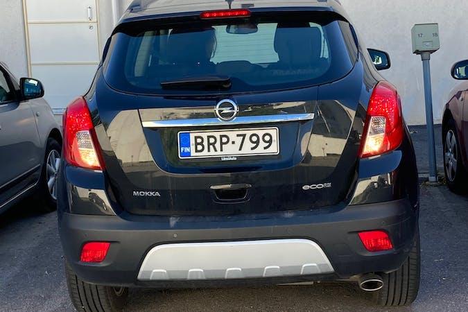 Opel Mokkan halpa vuokraus Isofix-kiinnikkeetn kanssa lähellä 00520 Helsinki.