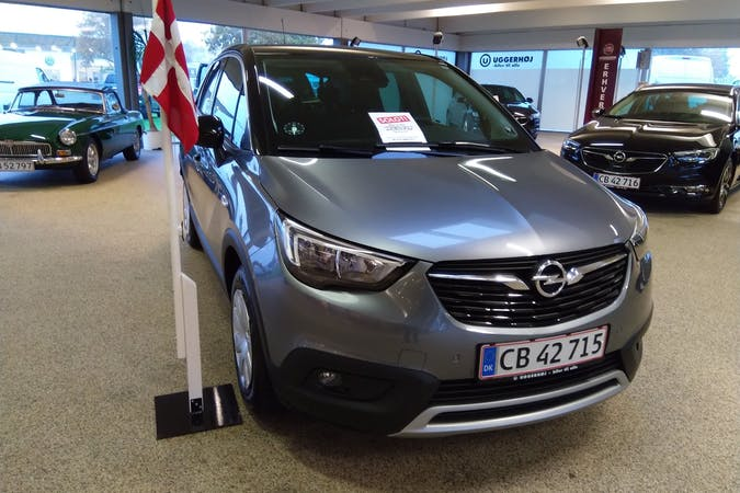 Billig billeje af Opel Crossland X nær 7620 Lemvig.