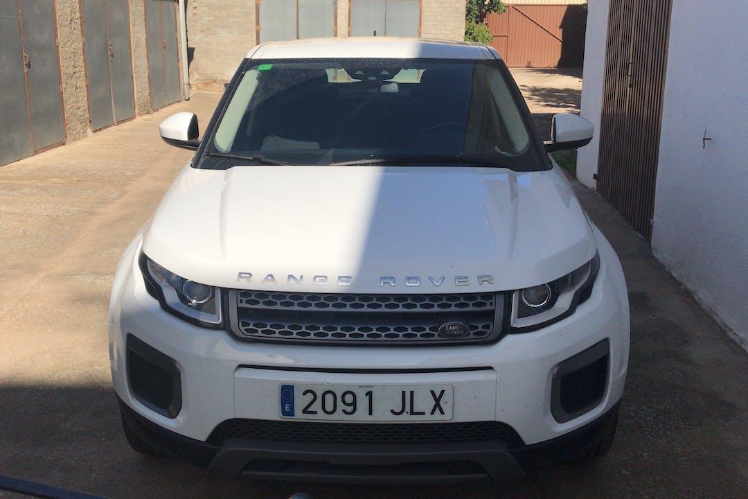 Alquiler barato de Land Rover Range Rover Evoque con equipamiento Fijaciones Isofix cerca de 07849 .
