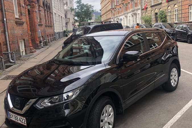 Billig billeje af Nissan Qashqai med Isofix beslag nær 2100 København.