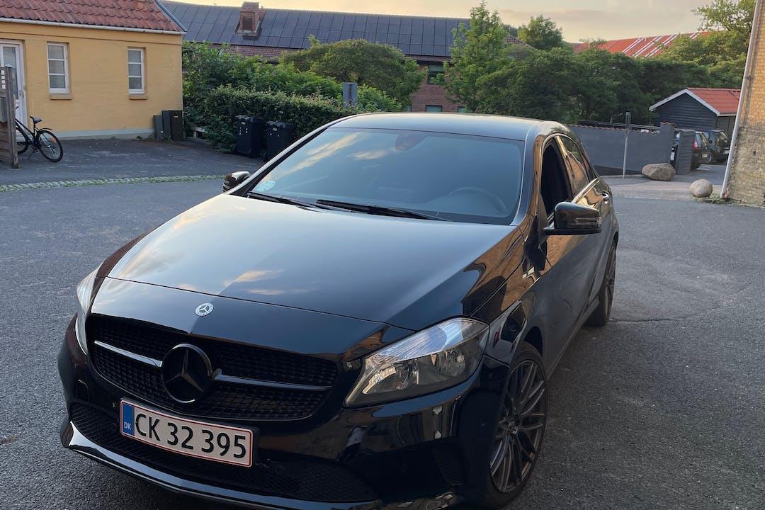 Billig billeje af Mercedes A-Class med GPS nær 4200 Slagelse.