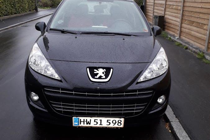 Billig billeje af Peugeot 207 med Anhængertræk nær 4600 Køge.