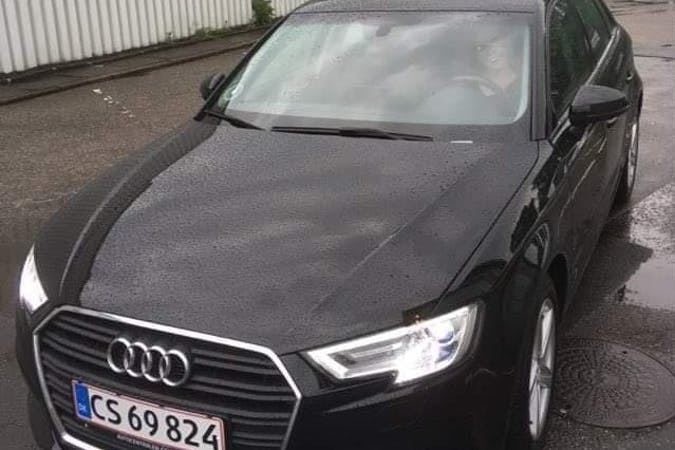 Billig billeje af Audi A3 Sportback nær 9330 Dronninglund.