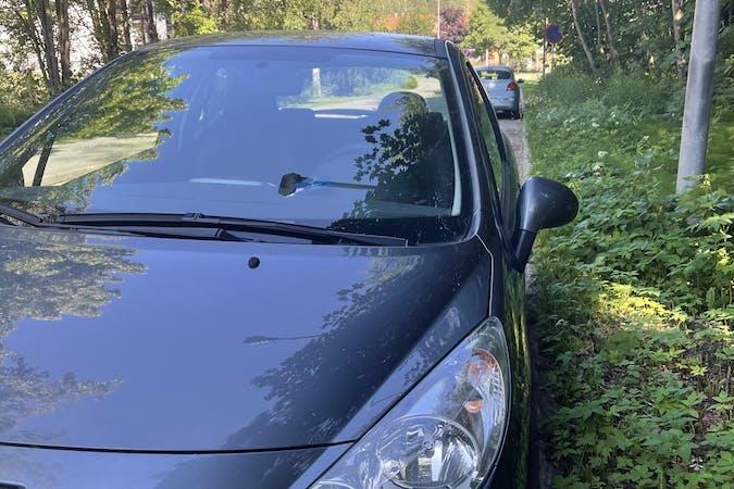 Peugeot 207n lalpa vuokraus lähellä 02710 Espoo.