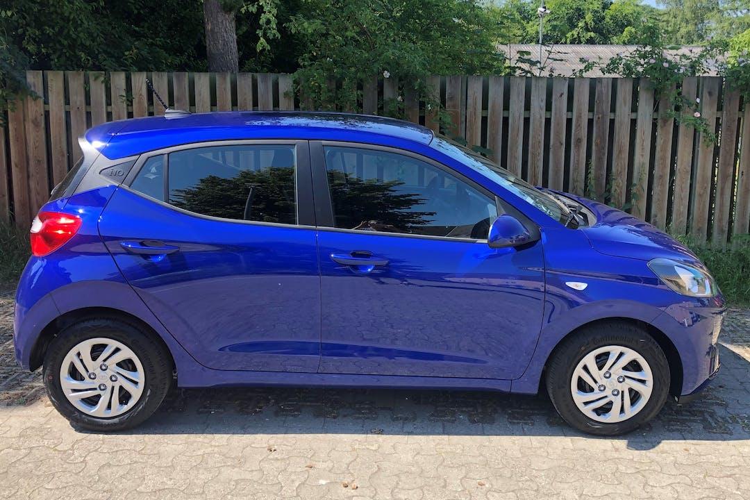 Billig billeje af Hyundai i10 nær 3000 Helsingør.