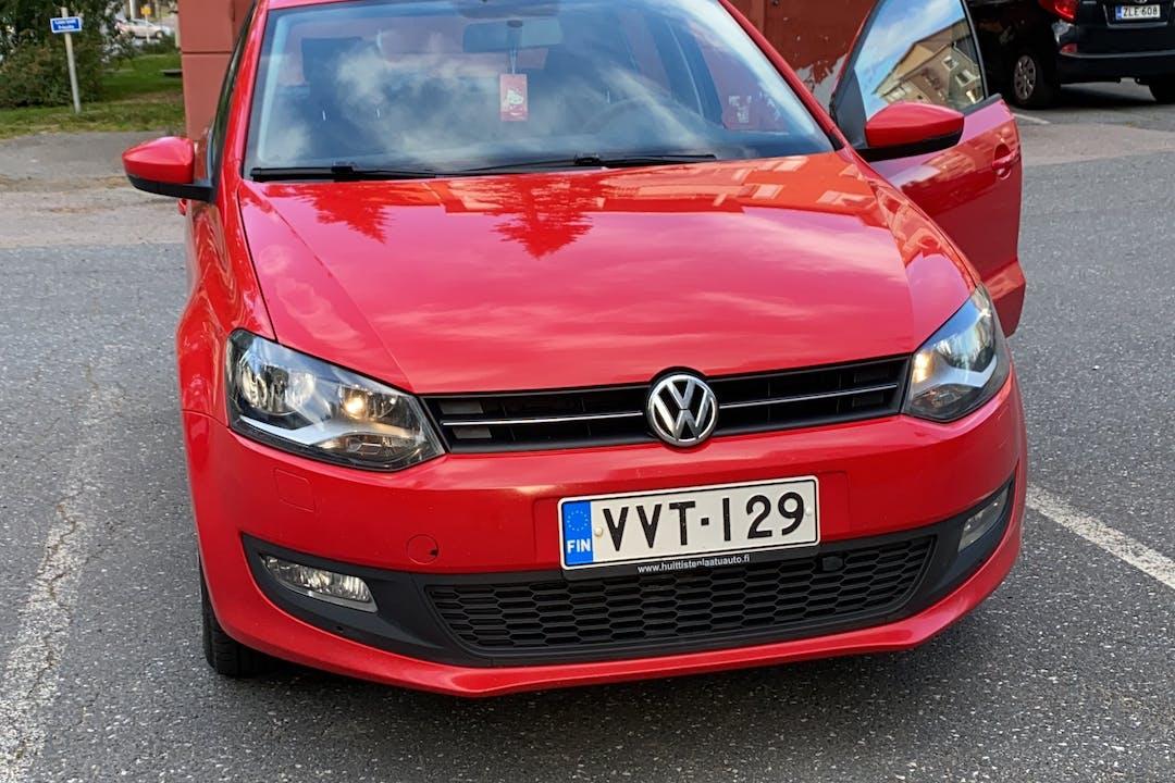Volkswagen Polon lalpa vuokraus lähellä 33580 Tampere.