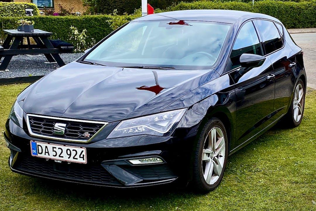 Billig billeje af Seat León med Isofix beslag nær 8400 Ebeltoft.