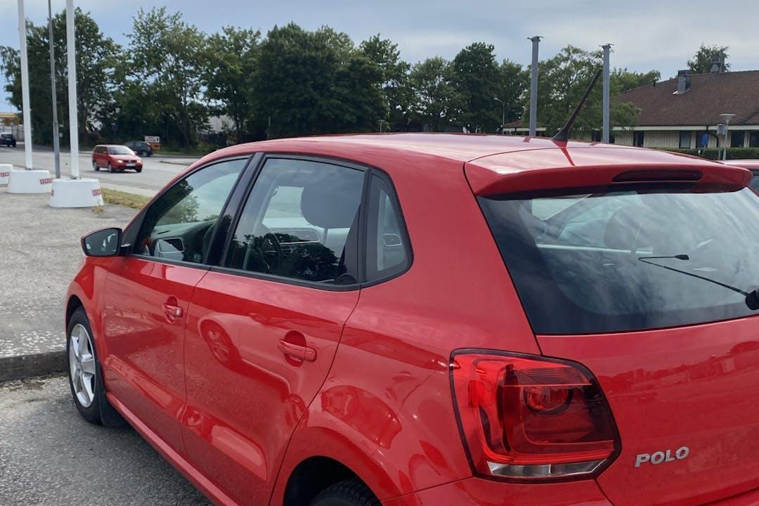Billig biluthyrning av Volkswagen Polo i närheten av  Klosters Fälad.