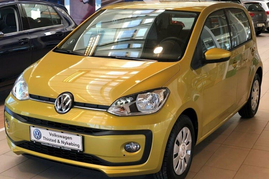 Billig billeje af Volkswagen UP! med Isofix beslag nær 9500 Hobro.