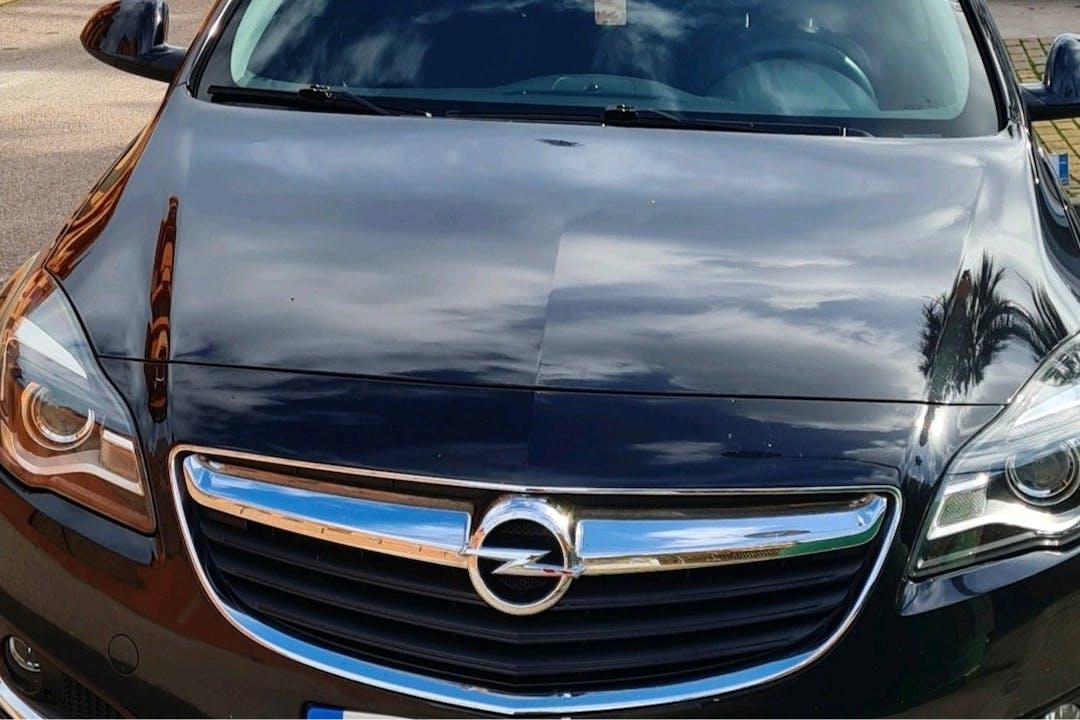 Alquiler barato de Opel Insignia Sports Tourer con equipamiento GPS cerca de 29680 Estepona.