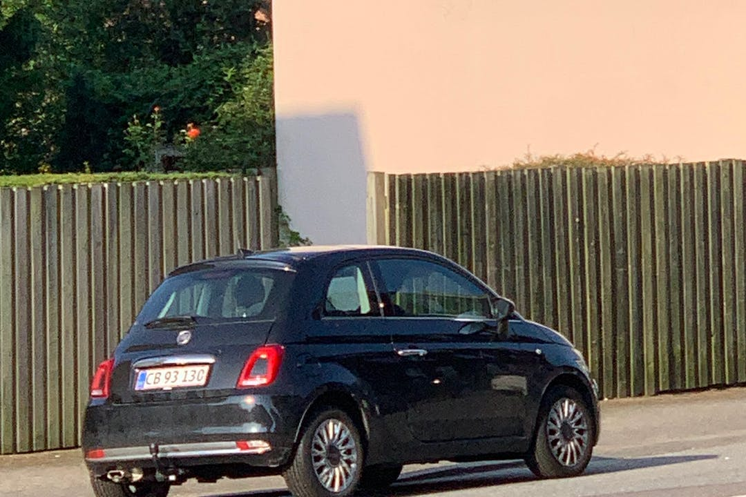 Billig billeje af Fiat 500 nær 7000 Fredericia.