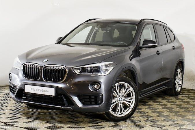 Alquiler barato de BMW X1 con equipamiento GPS cerca de 03349 San Isidro.