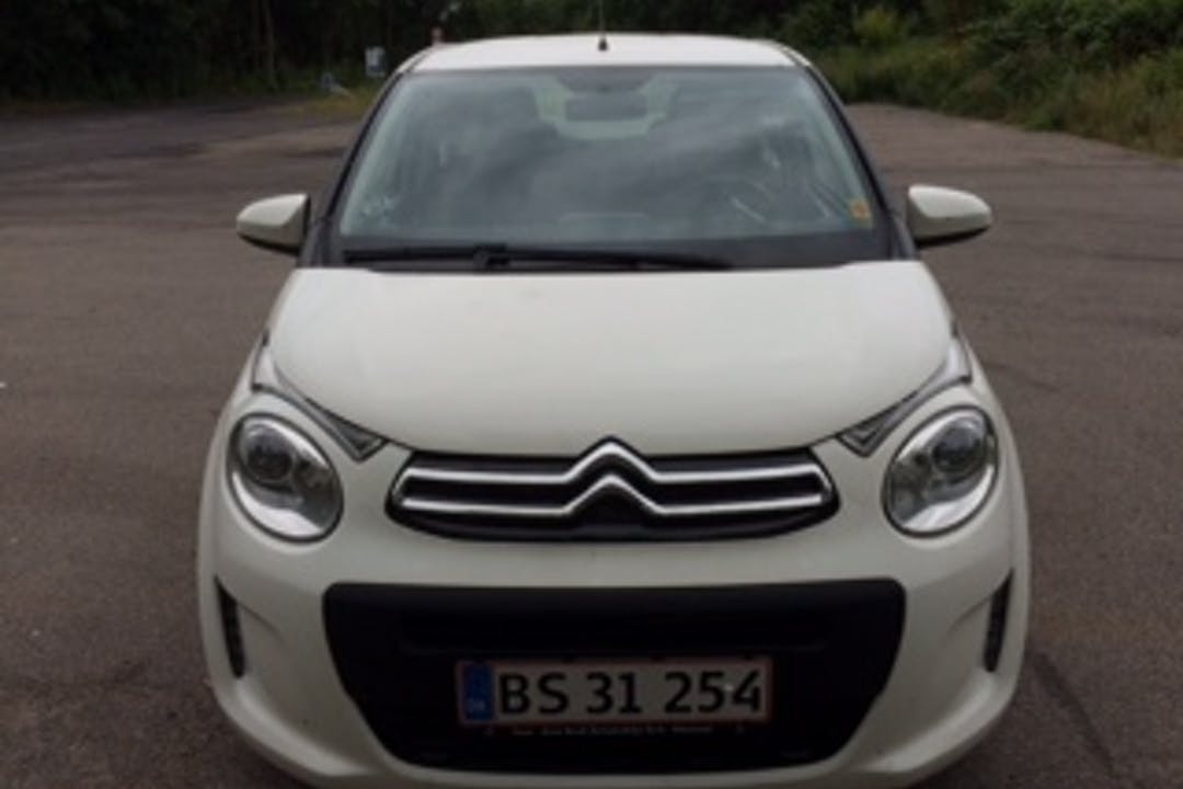 Billig billeje af Citroën C1 nær 4700 Næstved.