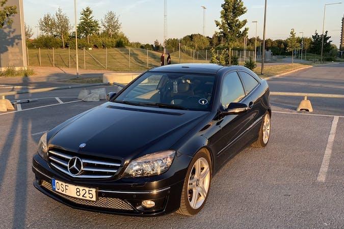 Billig biluthyrning av Mercedes CLC i närheten av  Tuna backar.