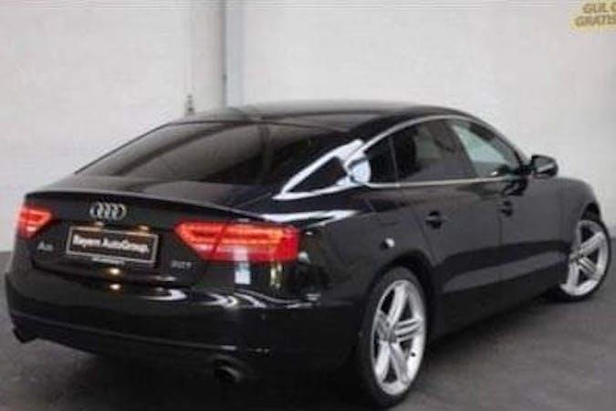 Billig billeje af Audi A5 Sportback med Isofix beslag nær 7200 Grindsted.