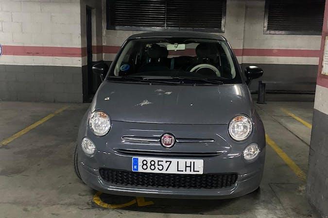 Alquiler barato de Fiat 500 con equipamiento Fijaciones Isofix cerca de  Madrid.