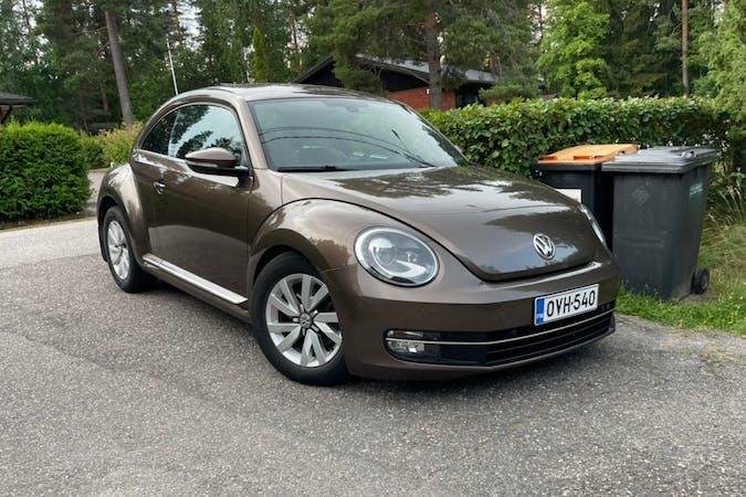 Volkswagen Beetlen halpa vuokraus Isofix-kiinnikkeetn kanssa lähellä 00500 Helsinki.