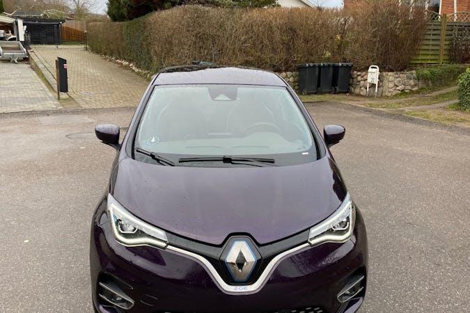 Billig billeje af Renault Zoe med GPS nær 4300 Holbæk.