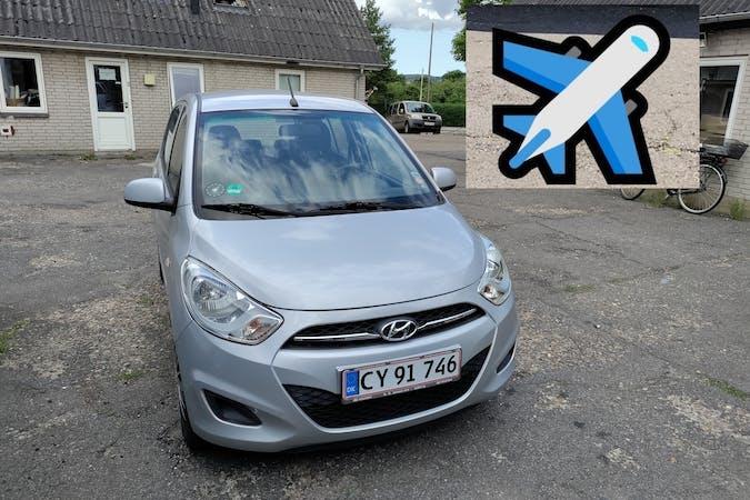 Billig billeje af Hyundai i10 nær 9400 Nørresundby.