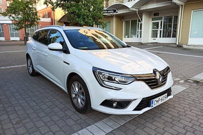 Renault Meganen halpa vuokraus GPSn kanssa lähellä 00300 Helsinki.