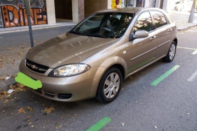 Alquiler barato de Chevrolet Lacetti cerca de 08019 Barcelona.
