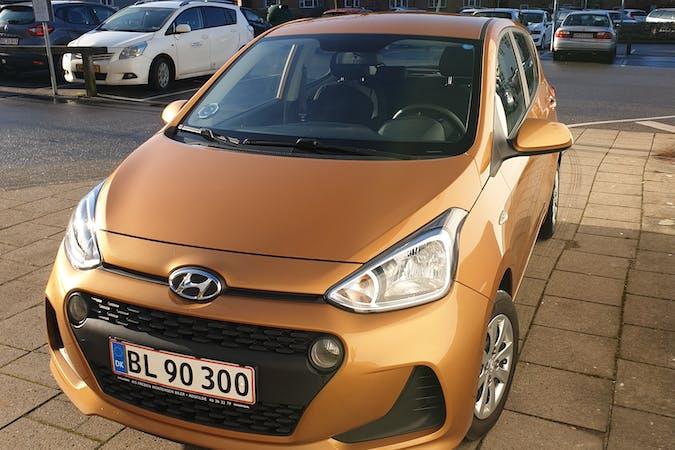 Billig billeje af Hyundai i10 nær 4000 Roskilde.