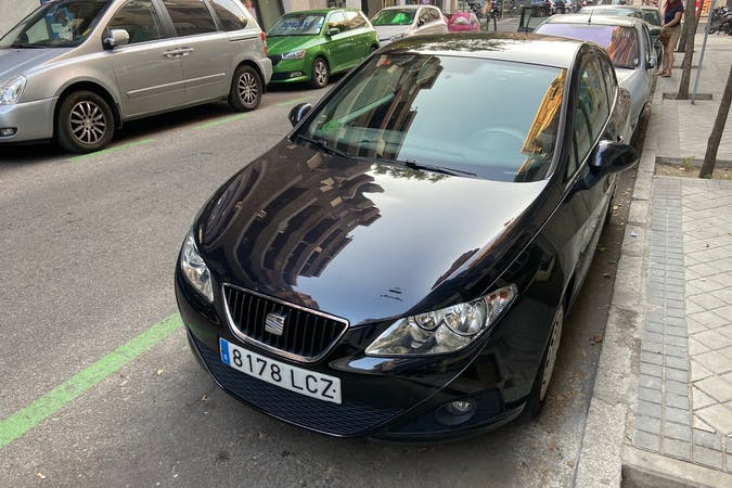 Alquiler barato de Seat Ibiza cerca de 28002 Madrid.