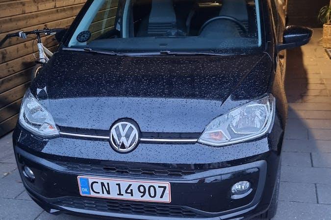 Billig billeje af Volkswagen UP! med Isofix beslag nær 6715 Esbjerg.