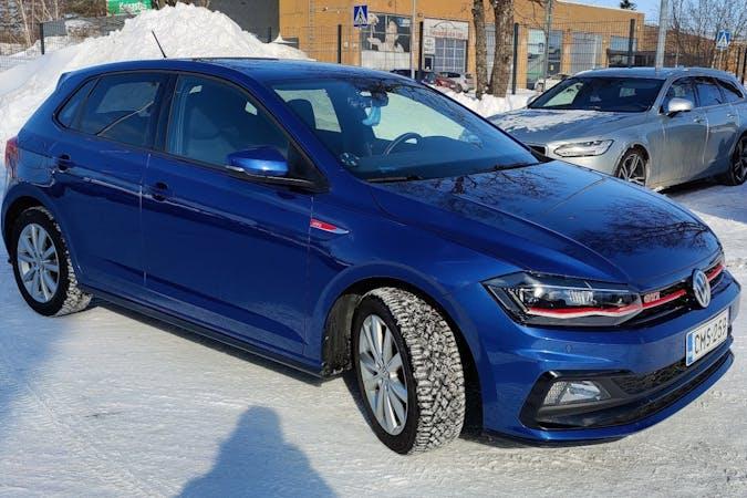 Volkswagen Polon halpa vuokraus GPSn kanssa lähellä 00740 Helsinki.