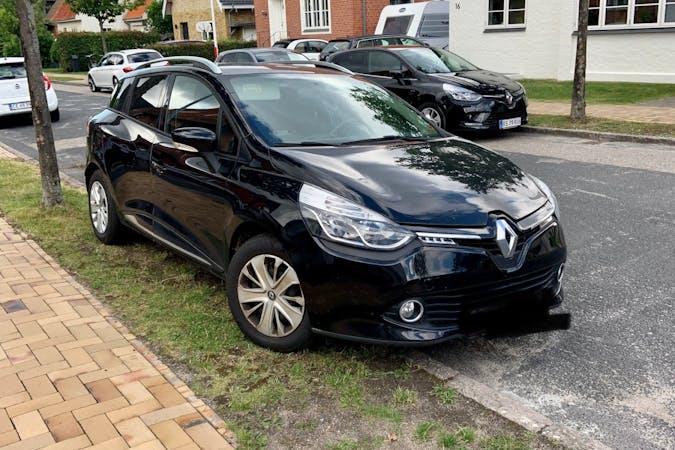 Billig billeje af Renault Clio med GPS nær 5230 Odense.