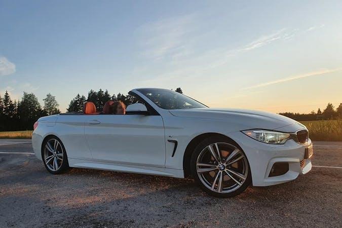 BMW 4 Seriesn halpa vuokraus GPSn kanssa lähellä 02320 Espoo.
