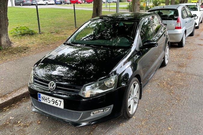 Volkswagen Polon halpa vuokraus Isofix-kiinnikkeetn kanssa lähellä 00200 Helsinki.