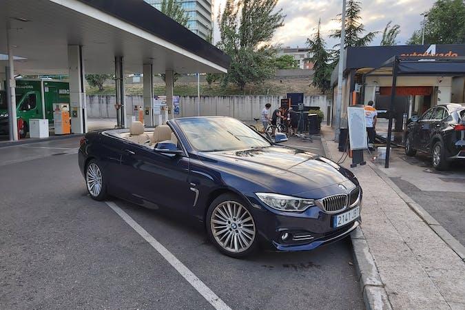 Alquiler barato de BMW 4 Series con equipamiento GPS cerca de 45200 .