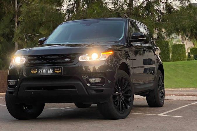 Alquiler barato de Land Rover Range Rover Sport con equipamiento GPS cerca de 03188 Torrevieja.