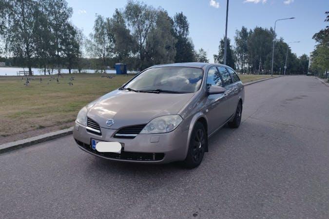 Nissan Primeran lalpa vuokraus lähellä 02150 Espoo.